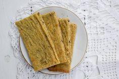 מתכון פשוט לקרקר מקמח חומוס ללא גלוטן