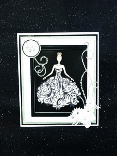 The Tattered Lace Bella Wedding Anniversary Cards, Wedding Cards, Kids Cards, Cards Diy, Tattered Lace Cards, Dress Card, Sympathy Cards, Greeting Cards, Beautiful Handmade Cards