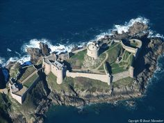 ✈️ Photo aérienne de Fort la Latte - Côtes-d'Armor (22)