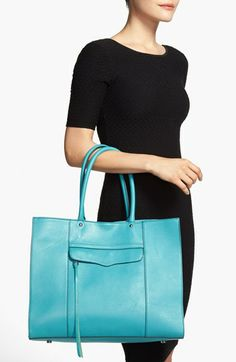 this tote is great for work and comes in a gorgeous pink and beige as well {40% now during Nordstrom's Half Yearly Sale!!}