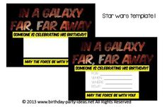 Star Wars Birthday P