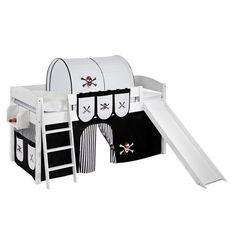 Hochbett Pirat mit Rutsche 90 x 200 cm Jetzt bestellen unter: https://moebel.ladendirekt.de/kinderzimmer/betten/hochbetten/?uid=9faf7bf8-2ee9-5c2f-a727-76424c7030cc&utm_source=pinterest&utm_medium=pin&utm_campaign=boards #kinderzimmer #hochbetten #betten #beds #kids