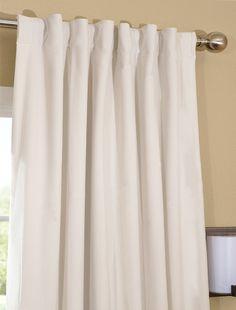 Elegant Off White Blackout Velvet Curtains U0026 Drapes   Half Price Drapes