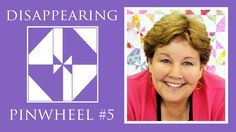 MUST try this one soon!  The Disappearing Pinwheel 5 TWIST Quilt: Easy Quilting Tutorial with Jen...
