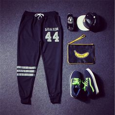 Find More Active Pants Information about MENS PANTS 2015 Men'S Outdoor Sports Pants Men'S Casual Letters Loose Sweatpants Spell Color Printed Trousers Joggers  No.113,High Quality pants running,China pants storage Suppliers, Cheap pants from Apollo fashion Collection  on Aliexpress.com