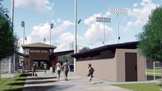 Rendering of renovated Moore Park Concession Stand