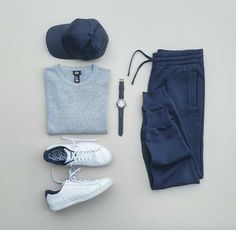 3 Cool & Comfortable Weekend Outfits — The Hottest Fashion Newsletter Ever is part of Mens fashion casual outfits - Athleisure Mens Fashion Blog, Fashion Mode, Mens Fashion Suits, Fashion 2020, Fashion Hats, Fashion Outfits, Stylish Mens Outfits, Casual Outfits, Men Casual