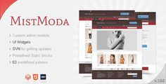 Mistmoda - Magento theme - ThemeForest Item for Sale