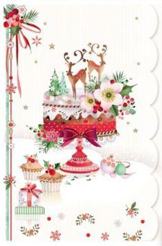 Lynn Horrabin - Screen Shot Christmas at Christmas Scenes, Noel Christmas, Christmas Pictures, Christmas Greetings, All Things Christmas, Christmas Crafts, Christmas Decorations, Illustration Noel, Christmas Illustration