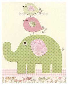 Baby girl Nursery Printbaby Art Decor by DesignByMaya on Etsy, $17.00