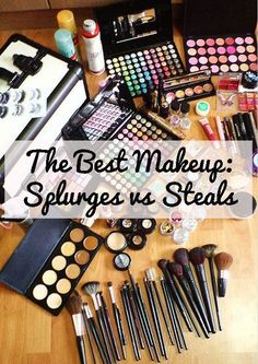 The Best Makeup: Splurges vs Steals |