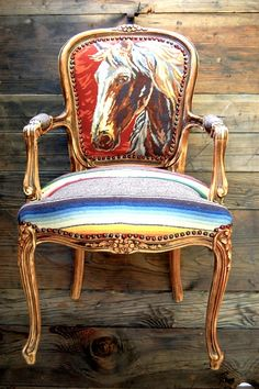 i want to do this to all of our stuffy white dining room chairs!