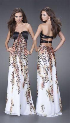 Cheetah dress, sooo cute for prom!