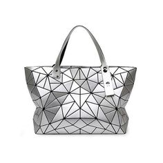 8da588a4c235 Women Bao Bao Bag Baobao Geometry Package Sequins Mirror Saser Plain  Folding Female Handbags Bags for Women Diamond Shoulder Bag.
