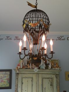 "On her blog ""Sweet Eye Candy Creations"", Jenifer Hayes has this gorgeous hot air balloon chandelier in her sons room.  http://sweeteyecandycreations.typepad.com/sweet_eyecandy_creations/2008/07/whimsical-childrens-rooms-blog-party.html"