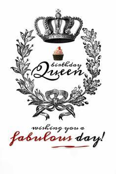 Keep Calm You Re The Birthday Queen Birthdays Happy Birthday