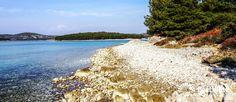 Beach Guščica - Jezera - Island Murter - Dalmatia - Šibenik - Croatia