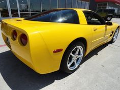 This is the one I bought last June. It's been a year of fun driving. 2004 Corvette, June, Bmw
