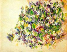 Paul Cezanne: Foliage - 1895-1900
