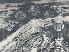 Geodesic Dome Diagram by Buckminster Fuller