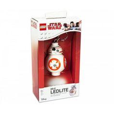 LEGO® Star Wars világító kulcstartó BB-8 figura - Mesenet Mega Blocks, Lego War, Lego Star Wars, Minden, Led, Stars, Sterne