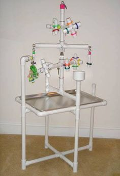 Compact portable Bird Parrot playground