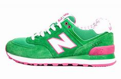 0f814c66daa32 Joes New Balance 574 WL574YKG Green White Pink Yacht Club Womens Shoes New  Balance 574 Womens
