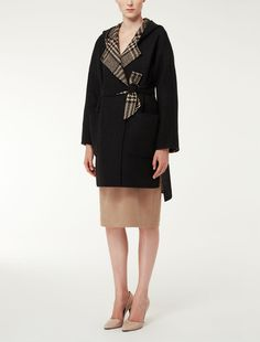 ALCOOL Max Mara, Duffle Coat, Beige, Cold Shoulder Dress, Dresses For Work, Fashion, Alcohol, Taupe, Moda
