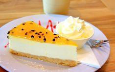 Cheesecake de maracujá Nutella, Cheesecakes, Mousse, Bread, Fruit, Desserts, Food, Tamales, Desert Recipes