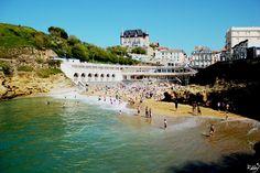 Port Vieux Plage central Biarritz Pamper Retreats March - September  www.prendsletemps.co.uk