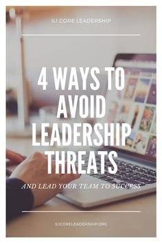 Challenges are inevitable, but we can take steps to anticipate them. Check out these four steps to successfully avoiding threats and protecting your leadership. READ MORE at ILICoreLeadership.org.