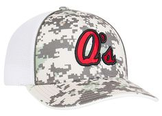 408M Digital Camo Trucker Mesh Hat Universal Fitted by Pacific Headwear