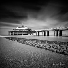 Blankenberge Pier in B&W III - Blankenberge has much more to give than I thought. I went several times now, I always discover something different.. I went back again to take some shots of the Pier, I made some more long exposures. #BW #beach #belgium #blackandwhite #blackandwhitephotography #blankenberge #breakwater #clouds #groyne #landscape #landscapephotography #leaves #longexposure #longexposurephotography #nature #naturephotography #ocean #pier #pontoon #scenic #sea #seascape…