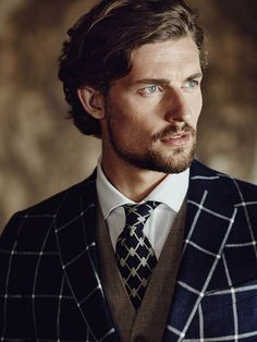 Wouter Peelen by Luc Praet for the Scapa's Spring Summer 2016 menswear campaign.