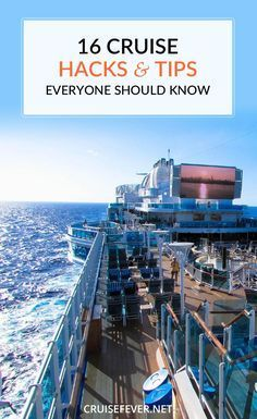 16 cruise hacks and