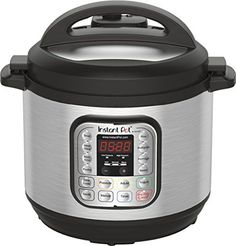 Instant Pot IP-DUO60 7-in-1 Multi-Functional Pressure Cooker, 6Qt/1000W #NotApplicable
