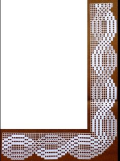 Nika Smith - My site Filet Crochet, Freeform Crochet, Crochet Stitches, Crochet Edgings, Crochet Boarders, Crochet Fabric, Filets, Diy And Crafts, Projects To Try