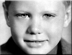 ❤ Larry Hagman, as a Boy .Beautiful Eyes of Our Beloved Larry, We Miss You…