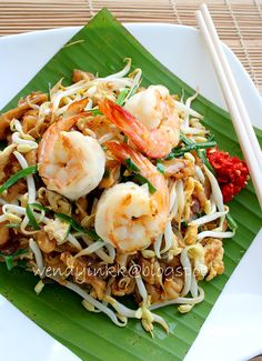 Char Kway Teow (Fried FlatRice Noodles)is how the world knows it. Hum Darn Fun (Cockle EggRice Noodles)is how we Kamparians call it. F...