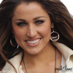 Rose Glow Pierced Earrings