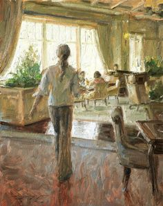 Trent Gudmundsen, Figurative Oil Painter, Waterhouse Gallery