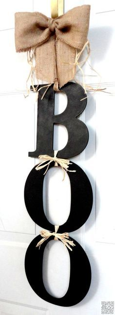36 #Outstanding Fall Wreaths You Can Make #Yourself ... → DIY #Monogram