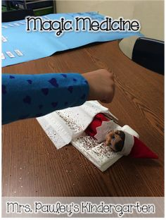 Mrs. Pauley's Kindergarten: What to do if one of the littles accidentally touches the Elf