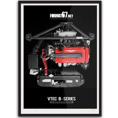 Strictly limited edition poster from one of the best engines ever built. Honda Civic Car, Honda Vtec, Fallout 4 Far Harbor, Mechanic Tattoo, Civic Eg, Car Facts, Civic Hatchback, Misfit Toys, Jdm Cars