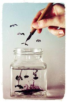 Ink Art | MALINCONIA LEGGERA