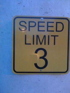 Speed Limit 3