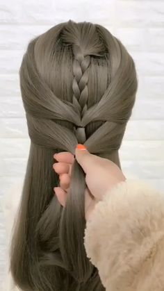 DIY Side Braid Rose Flower Hairstyle Tutorial - Fab Art DIY - Celtic Knot Tutorial - Hairstyle by Abby of Twist Me Pretty - Cute Scarf Bun Hairstyle Tutorial - Natural Wedding Hairstyles, Braided Hairstyles, Cool Hairstyles, Hair Style Vedio, Easy Hairstyle Video, Hair Upstyles, Hair Videos, Makeup Videos, How To Draw Hair