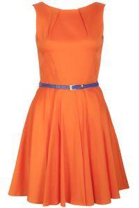 Must Have dress! Orange Orange Orange. Absolutely #PrincessPerfect in every way. xoxo,Lily P