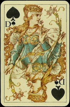 Luxus Skatkarten 1860
