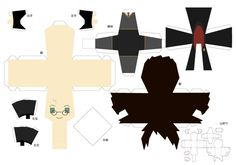 I'm sort on a bit of a Harry Potter high after the last movie came out. I really wanted to do some Potter papercraft but to my dismay there weren't any simple ones. Actually there isn't a lot of Ha...
